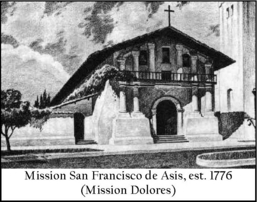 missions of san francisco bay images of america